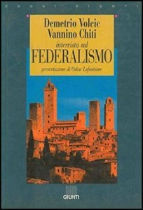 Book Cover: Intervista sul federalismo