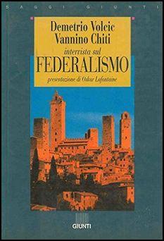 Book Cover: Intervista sul federalismo