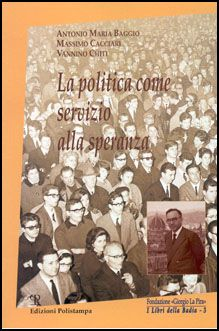 Book Cover: La politica come servizio alla speranza