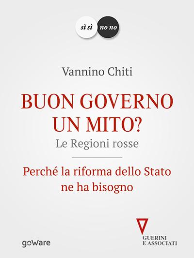 Book Cover: Buon governo. Un mito?
