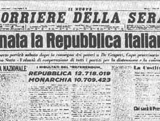 Il 2 giugno nacquero la Repubblica e una comunità civile